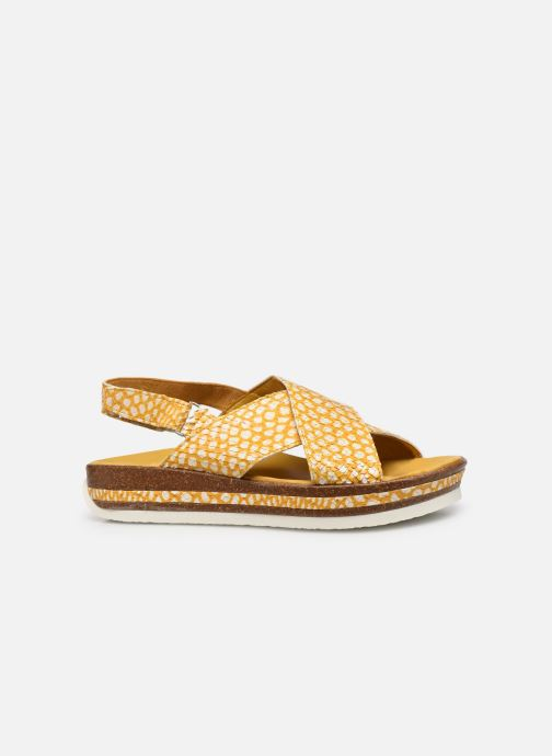 Sandali e scarpe aperte Think! Zega 686386 Giallo immagine posteriore