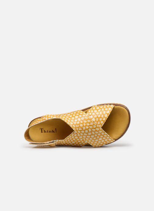 Sandali e scarpe aperte Think! Zega 686386 Giallo immagine sinistra