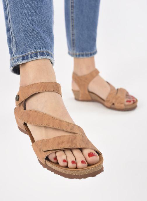 Sandales et nu-pieds Think! Dumia 89370 Marron vue bas / vue portée sac