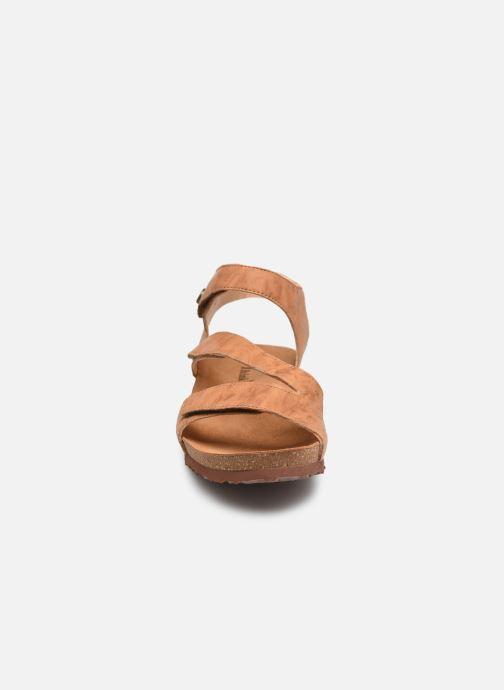 Sandales et nu-pieds Think! Dumia 89370 Marron vue portées chaussures