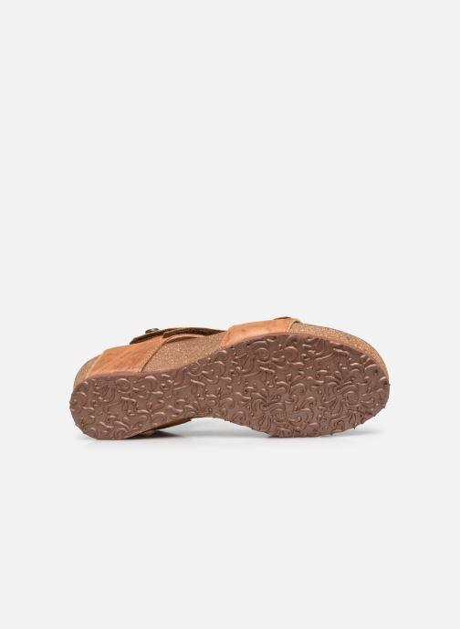 Sandales et nu-pieds Think! Dumia 89370 Marron vue haut
