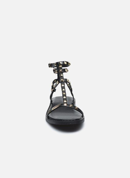 Sandales et nu-pieds Les Tropéziennes par M Belarbi CORALIE Noir vue portées chaussures