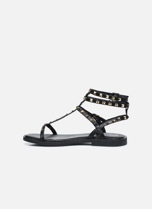 Sandales et nu-pieds Les Tropéziennes par M Belarbi CORALIE Noir vue face