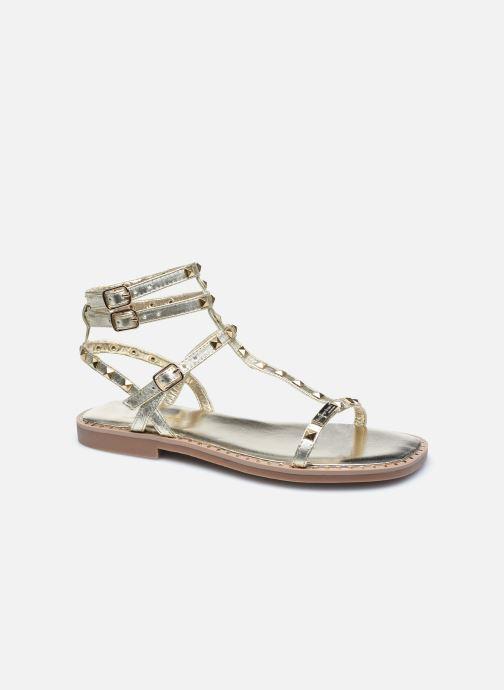 Sandales et nu-pieds Les Tropéziennes par M Belarbi CORALIE Or et bronze vue détail/paire