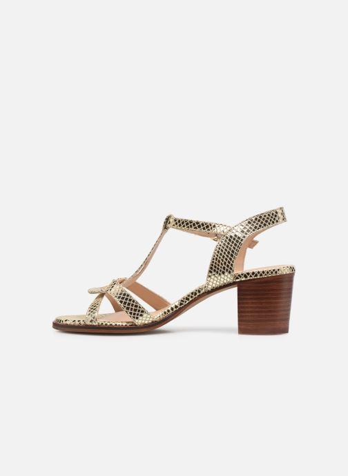 Sandali e scarpe aperte Les Tropéziennes par M Belarbi LILA Oro e bronzo immagine frontale