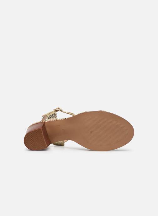Sandali e scarpe aperte Les Tropéziennes par M Belarbi LILA Oro e bronzo immagine dall'alto