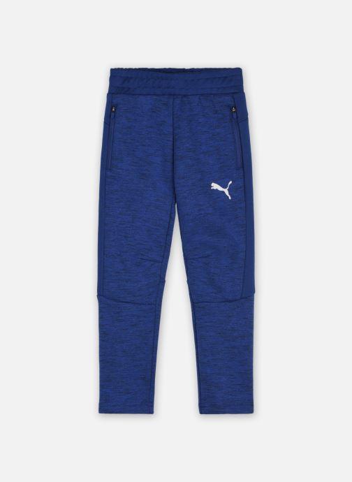 Vêtements Puma JR EVO PANT B Bleu vue détail/paire