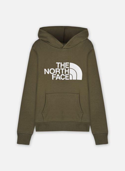 Vêtements The North Face Drew Peak P/O Hoodie Vert vue détail/paire