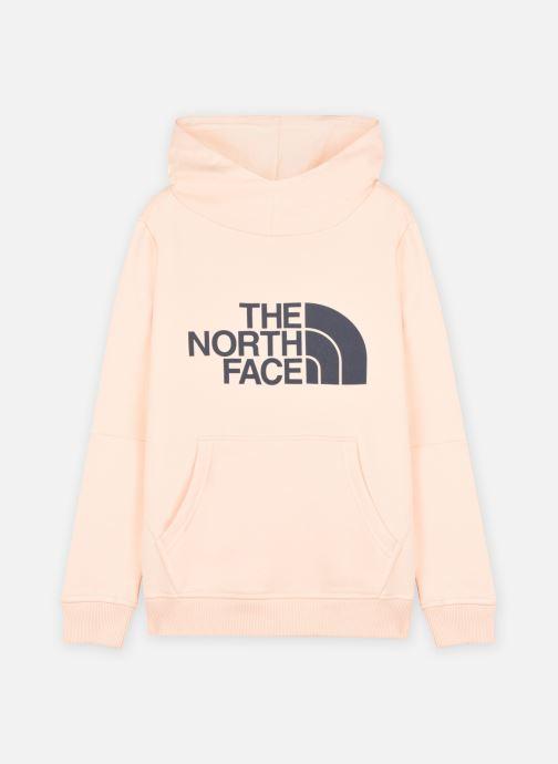 Vêtements The North Face Drew Peak P/O Hoodie 2.0 Rose vue détail/paire