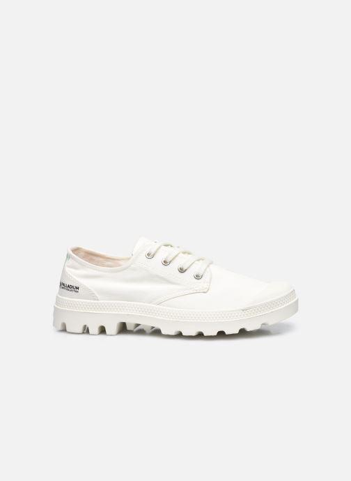 Sneakers Palladium PAMPA OX ORGANIC II Wit achterkant