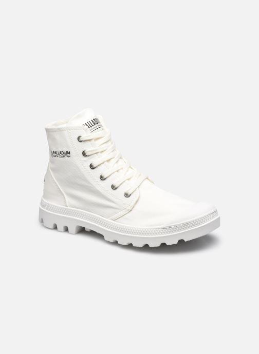 Sneakers Palladium PAMPA HI ORGANIC II Wit detail