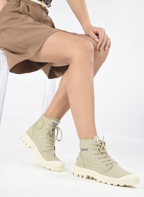 Sneakers Palladium PAMPA HI ORGANIC II Groen onder