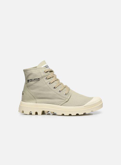 Sneakers Palladium PAMPA HI ORGANIC II Groen achterkant