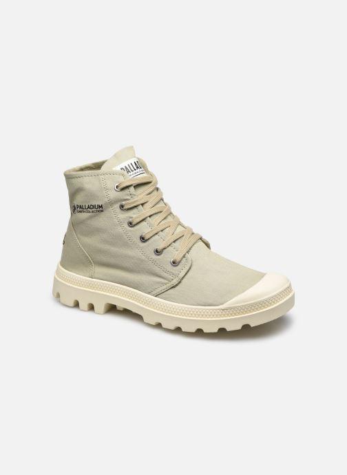Sneakers Palladium PAMPA HI ORGANIC II Groen detail