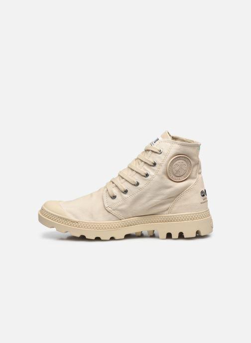Sneakers Palladium PAMPA HI ORGANIC II Beige voorkant
