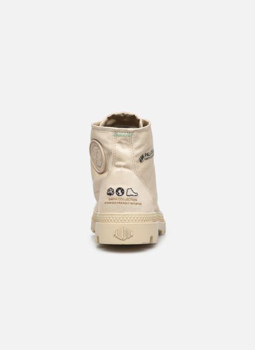 Sneakers Palladium PAMPA HI ORGANIC II Beige rechts