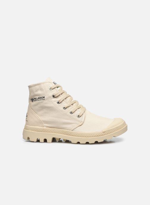 Sneakers Palladium PAMPA HI ORGANIC II Beige achterkant