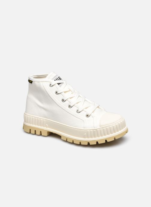 Sneakers Palladium PALLASHOCK MID OG Wit detail
