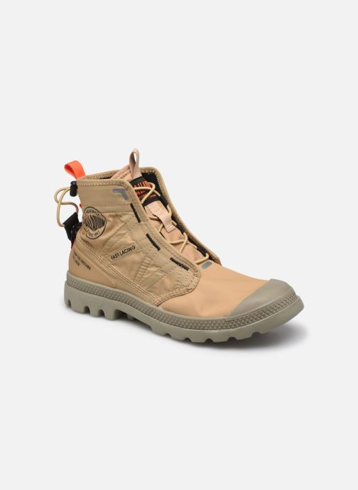 Sneakers Palladium PAMPA TRAVEL LITE Bruin detail