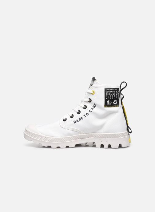 Sneakers Palladium PAMPA RCYCL METRO Wit voorkant