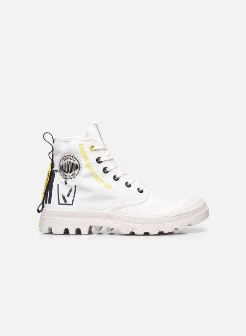 Sneakers Palladium PAMPA RCYCL METRO Wit achterkant