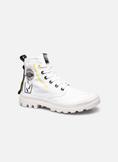 Sneakers Palladium PAMPA RCYCL METRO Wit detail