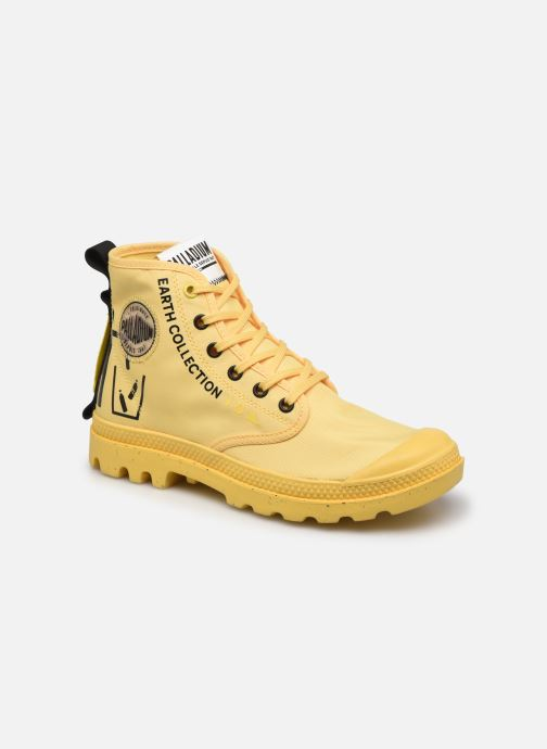 Sneakers Palladium PAMPA RCYCL METRO Geel detail