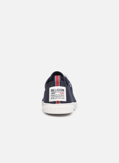 Sneakers Palladium EASY LACE Blauw rechts