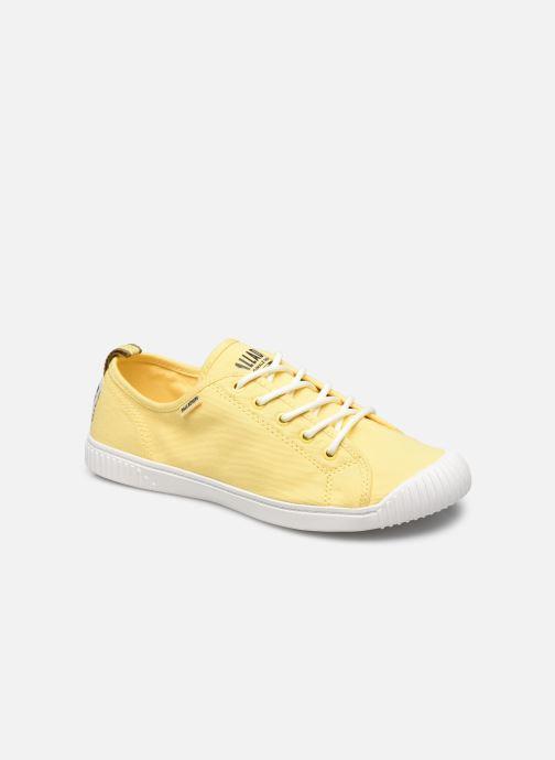 Sneakers Palladium EASY LACE Geel detail