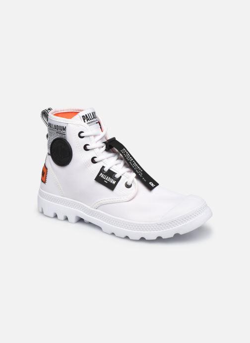 Sneakers Palladium PAMPA LITE OVERLAB Wit detail
