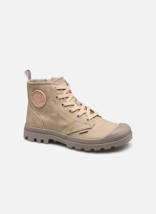 Sneakers Palladium PAMPA ZIP DESERT WASH Bruin detail