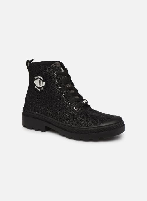 Sneakers Palladium AVENUE HIGH GLIT Zwart detail