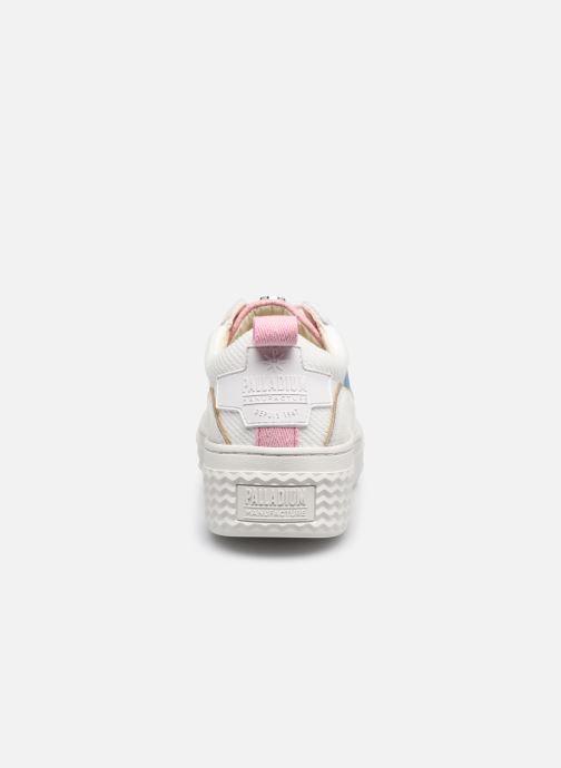 Sneakers Palladium EGO 01 SOAP Wit rechts