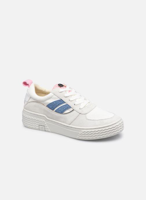 Sneakers Palladium EGO 01 SOAP Wit detail