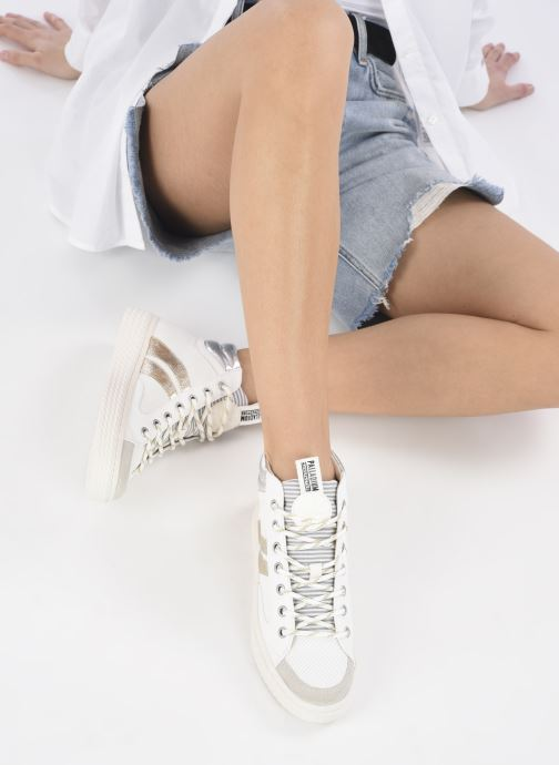 Sneakers Palladium TEMPO 03 TXT Wit onder