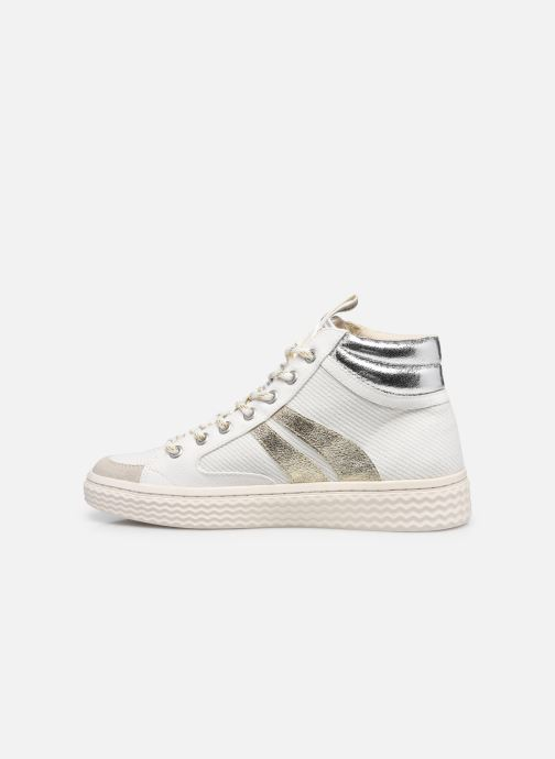 Sneakers Palladium TEMPO 03 TXT Wit voorkant
