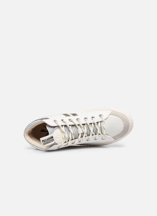 Sneakers Palladium TEMPO 03 TXT Wit links