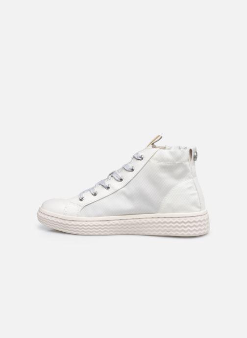 Sneakers Palladium TEMPO 05 NYL Wit voorkant