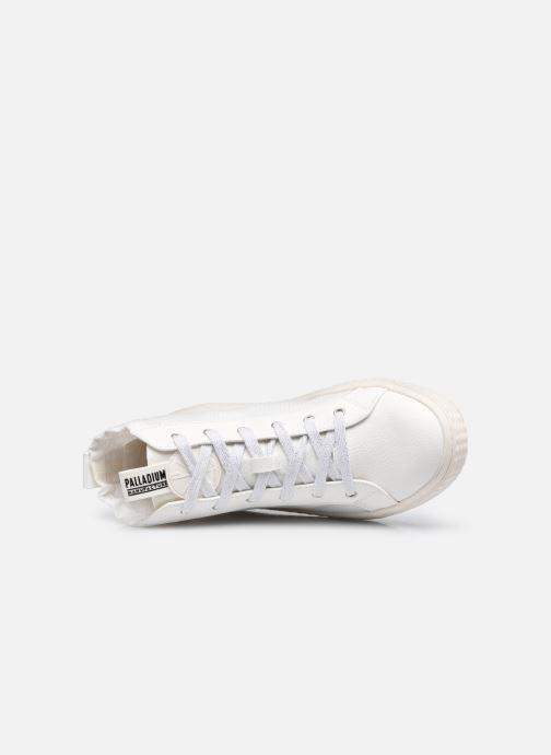 Sneakers Palladium TEMPO 05 NYL Bianco immagine sinistra