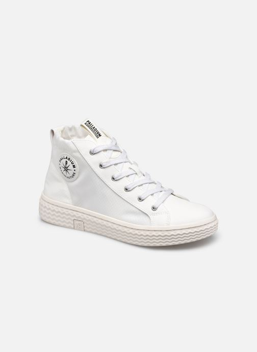 Sneakers Palladium TEMPO 05 NYL Wit detail
