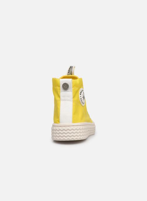 Sneakers Palladium TEMPO 05 NYL Giallo immagine destra