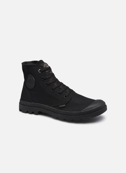 Sneakers Palladium MONO CHROME M Zwart detail