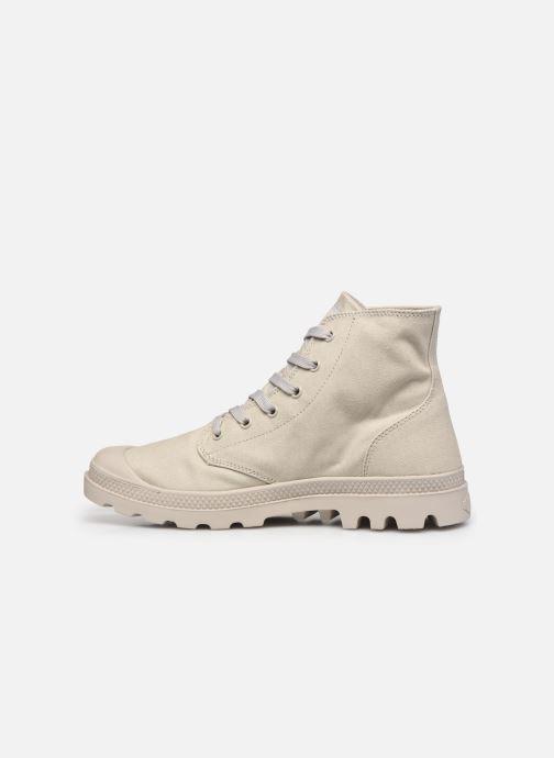 Sneakers Palladium MONO CHROME M Grijs voorkant
