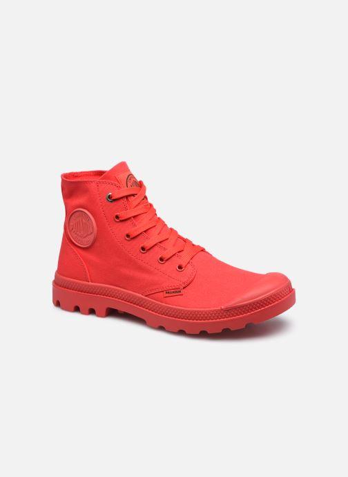 Sneakers Palladium MONO CHROME M Rood detail