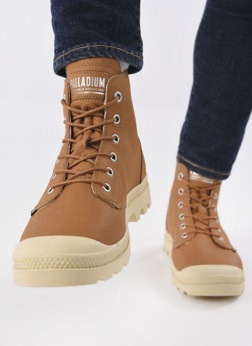 Sneakers Palladium PAMPA HI UL LTH II M Bruin onder