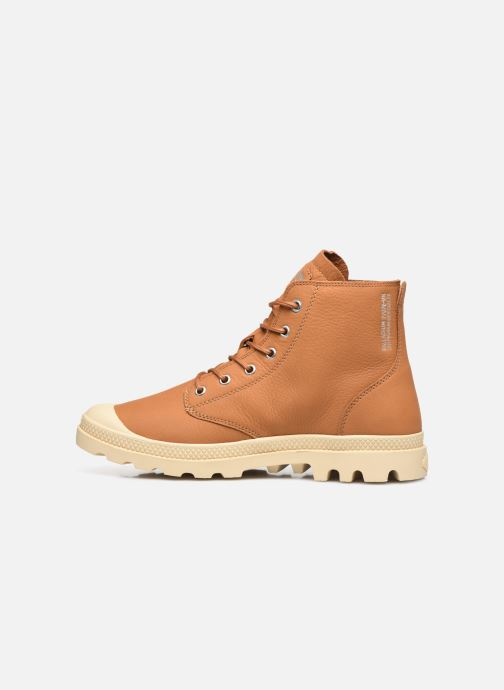Sneakers Palladium PAMPA HI UL LTH II M Bruin voorkant