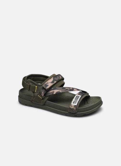 Sandales et nu-pieds Palladium SOLEA ST 2.0 M Vert vue détail/paire