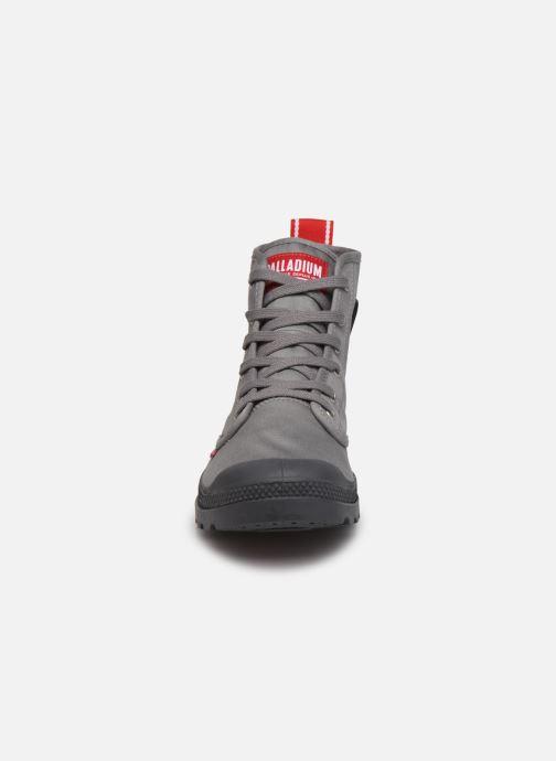 Sneaker Palladium PAMPA HI DARE M grau schuhe getragen