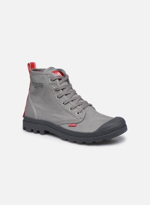 Sneaker Palladium PAMPA HI DARE M grau detaillierte ansicht/modell