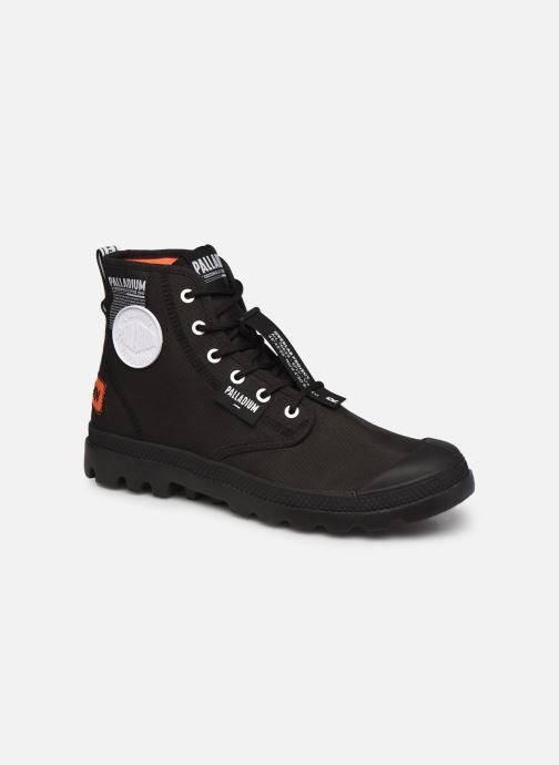 Sneaker Palladium PAMPA LITE OVERLAB M schwarz detaillierte ansicht/modell